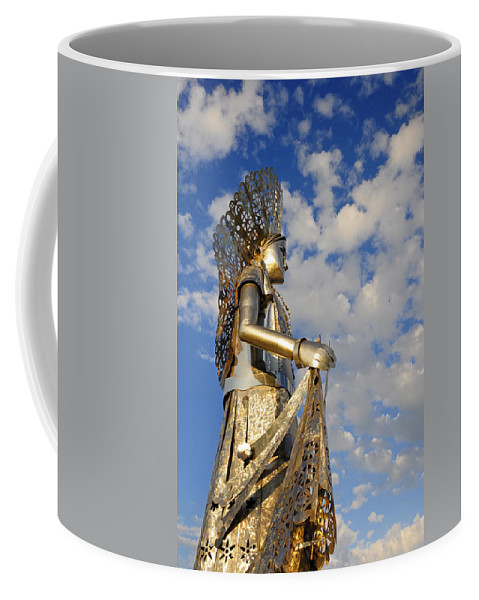 Skiphunt Coffee Mug featuring the photograph Goddess Isthmus by Skip Hunt
