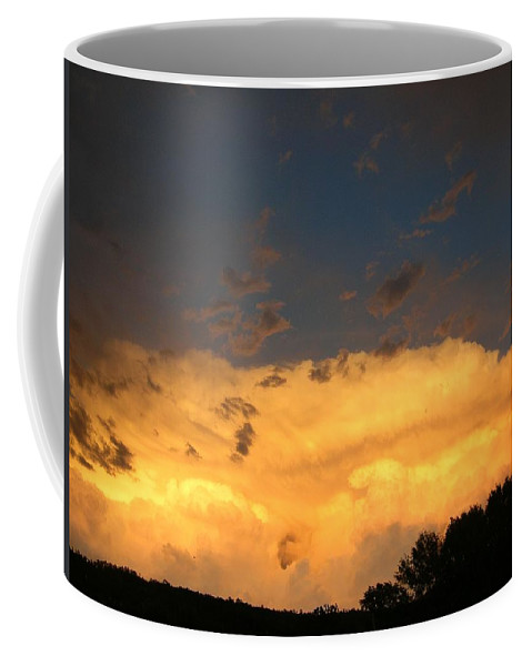 Cloudscape Coffee Mug featuring the photograph God's Answer To Rain Prayers by Anastasia Savage Ealy