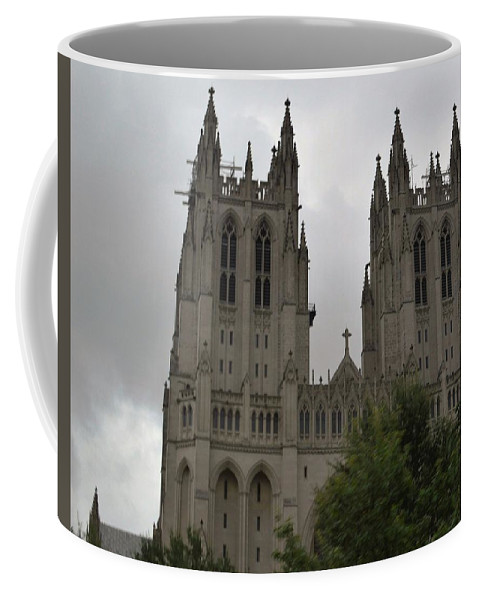 Worship Coffee Mug featuring the photograph God's House by Charles HALL