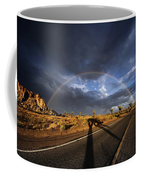 Coffee Mug featuring the photograph God's Sign by Nathaniel Buzolic