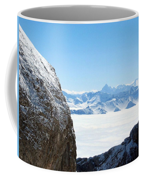 Landscape Coffee Mug featuring the photograph God's Window by Dylan Punke