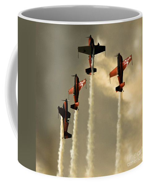 Blades Extra 300 Coffee Mug featuring the photograph Going Up by Angel Ciesniarska