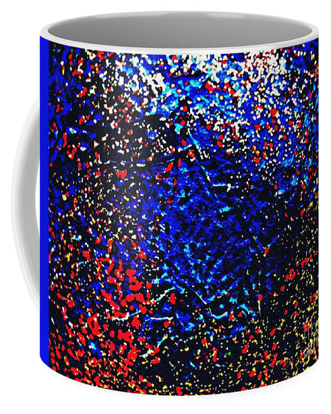 Glitter Coffee Mug featuring the photograph Gold And Glitter 17 by Sarah Loft