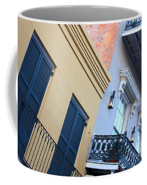 New Orleans Coffee Mug featuring the photograph Gold And Gray In New Orleans by Carol Groenen