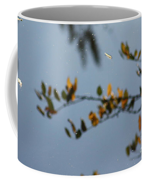 Gold Coffee Mug featuring the photograph Gold Floats by Brian Boyle