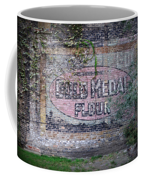Gold Medal Flour Coffee Mug featuring the photograph Gold Medal Flour by Tim Nyberg