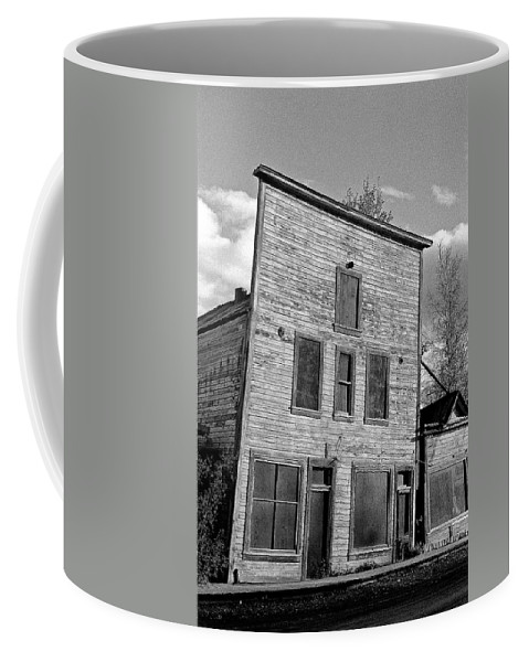 Gold Coffee Mug featuring the photograph Gold Rush Saloon - Dawson City by Juergen Weiss