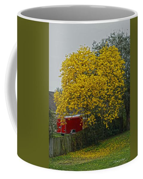 Golden Coffee Mug featuring the photograph Golden by Chauncy Holmes