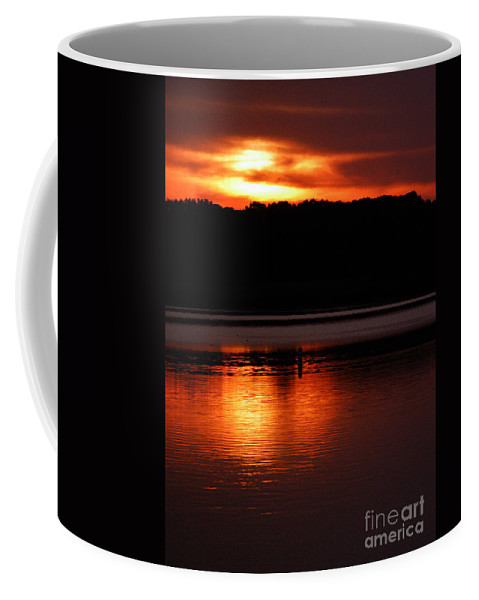 Clay Coffee Mug featuring the photograph Golden Night by Clayton Bruster