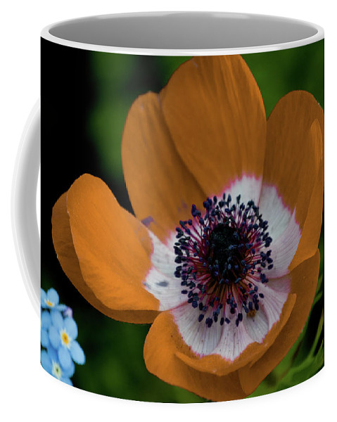 Gold Coffee Mug featuring the photograph Golden Poppy by Trish Tritz