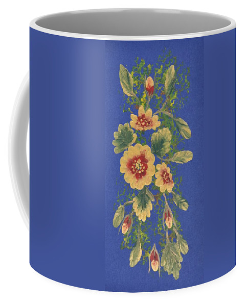 Decorations Coffee Mug featuring the painting Golden Radiance by Georgeta Blanaru