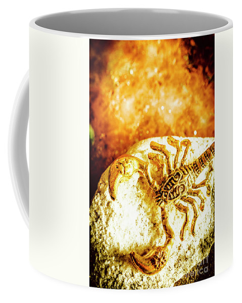 Luxury Coffee Mug featuring the photograph Golden Treasures by Jorgo Photography - Wall Art Gallery