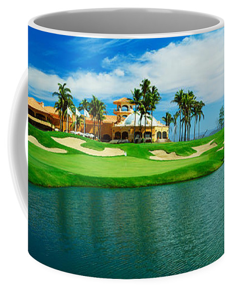 Photography Coffee Mug featuring the photograph Golf Course At Isla Navadad Resort by Panoramic Images