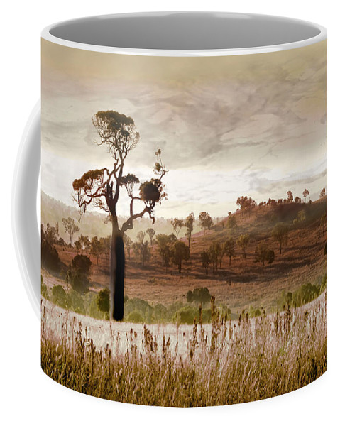 Landscapes Coffee Mug featuring the photograph Gondwana Boab by Holly Kempe