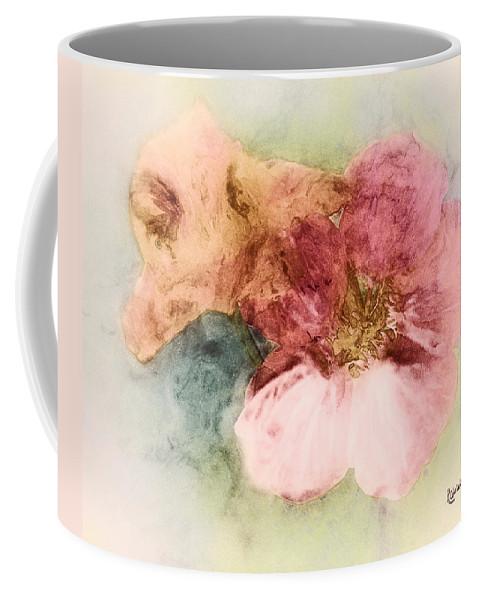 Flowers Coffee Mug featuring the digital art Gone Native by RC DeWinter
