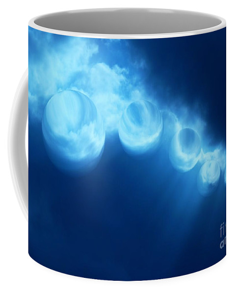 Colorful Coffee Mug featuring the photograph Gone Too Soon by Dale Crum