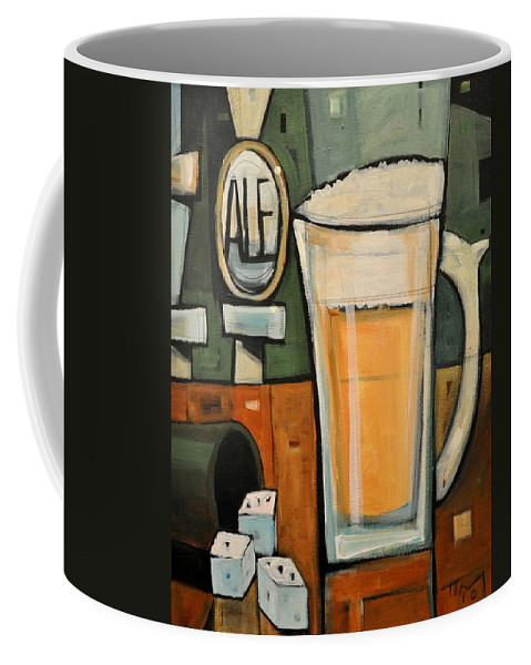 Beer Coffee Mug featuring the painting Good For What Ales You by Tim Nyberg