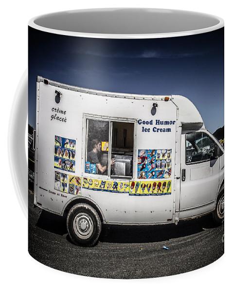 Good Coffee Mug featuring the photograph Good Humor Ice Cream Truck by Edward Fielding