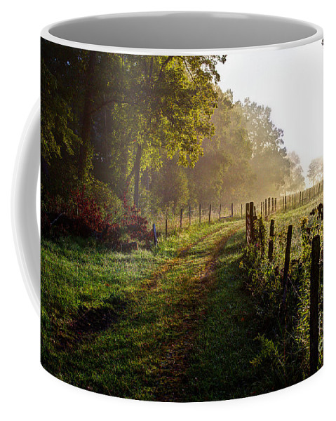 Cades Coffee Mug featuring the photograph Good Morning Cades Cove II by Douglas Stucky