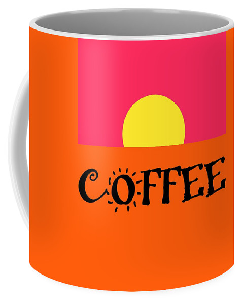 Good Morning Coffee Coffee Mug featuring the digital art Good Morning Coffee by Dan Sproul