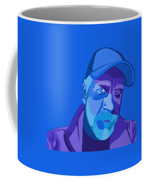 Portrait Coffee Mug featuring the digital art Good Morning by John Berndt