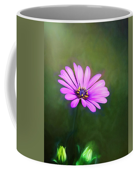 Good Morning Coffee Mug featuring the mixed media Good Morning by Steven Richardson