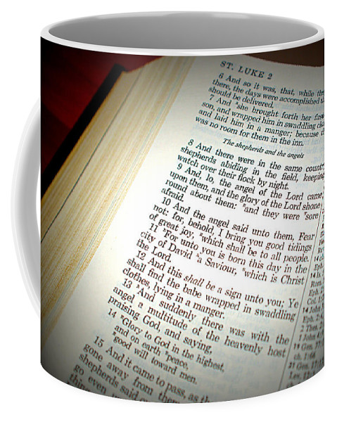 Christmas Coffee Mug featuring the photograph Good Tidings by Cricket Hackmann