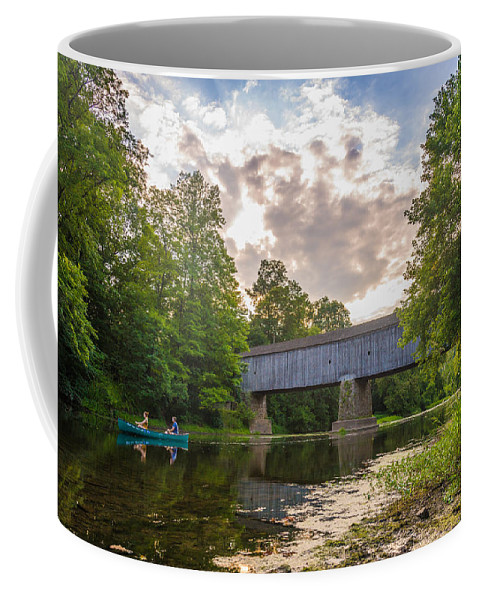 Pennsylvania Coffee Mug featuring the photograph Good to Canoe by Kristopher Schoenleber