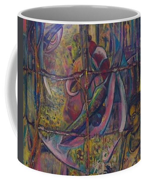 Mother Coffee Mug featuring the painting Goodbye Sweet Dreams by Peggy Blood