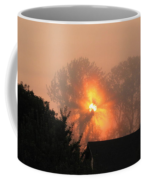 Landscapes Coffee Mug featuring the photograph Goodnight Kiss by Shari Chavira