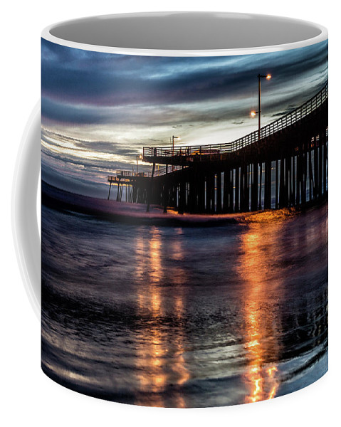 Pismo Beach Coffee Mug featuring the photograph Goodnight Pismo by Marnie Patchett