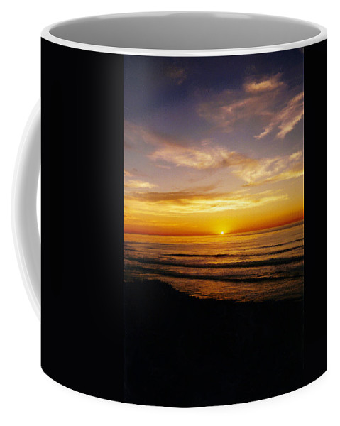 Sunset Coffee Mug featuring the photograph Goodnight Sun by Jean Haynes