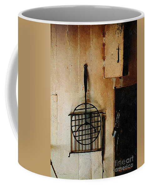 Americana Coffee Mug featuring the painting Goodwife Hamlyn's Hearth by RC DeWinter