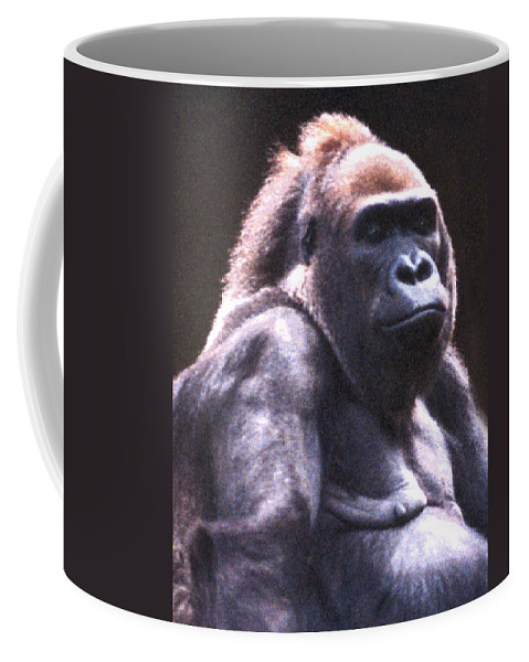 Gorilla Coffee Mug featuring the photograph Gorilla by Steve Karol