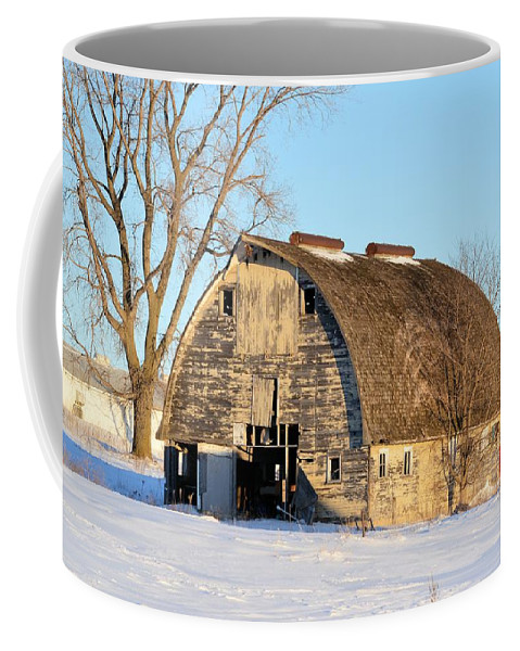 Rustic Coffee Mug featuring the photograph Goth Decay by Bonfire Photography