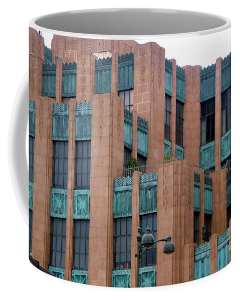Gothic Coffee Mug featuring the photograph Gothic Architecture In Los Angeles by Sofia Metal Queen