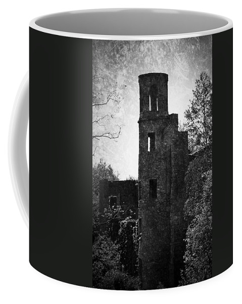 Irish Coffee Mug featuring the photograph Gothic Tower At Blarney Castle Ireland by Teresa Mucha