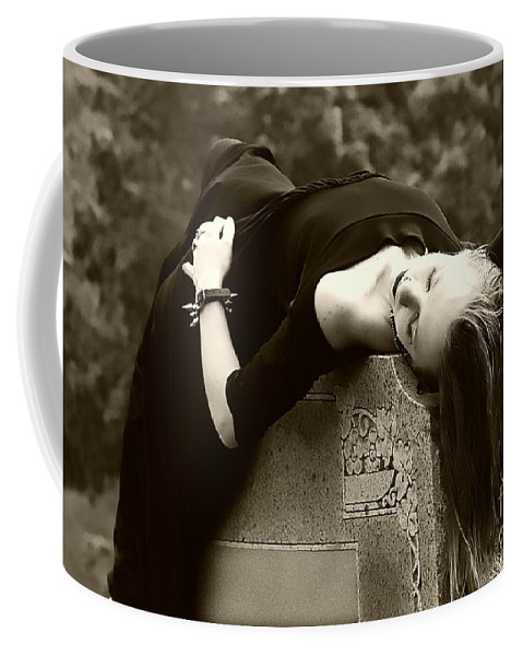 Clay Coffee Mug featuring the photograph Gothic Tragedy by Clayton Bruster