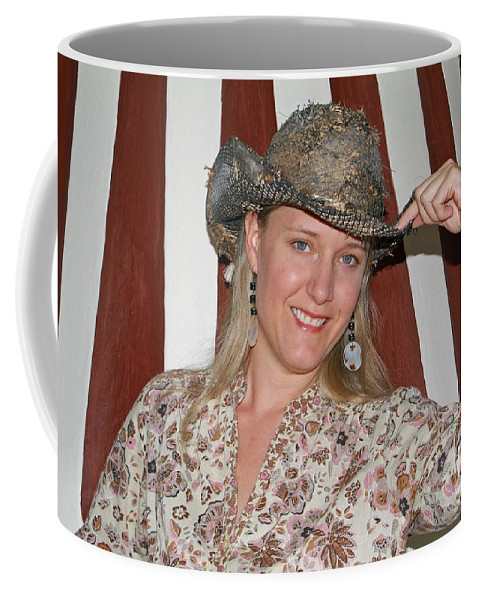 San Miguel De Allende Mexico Coffee Mug featuring the photograph Gotta Love That Hat by Christal Randolph