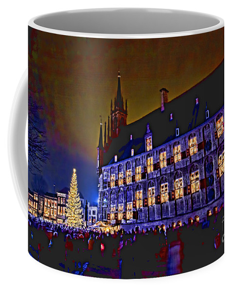 Gouda Coffee Mug featuring the photograph Gouda By Candlelight-1 by Casper Cammeraat