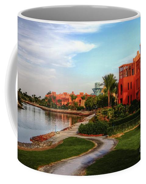 Africa Coffee Mug featuring the photograph Gouna, Hurghada, Egypt by Mohamed Kazzaz