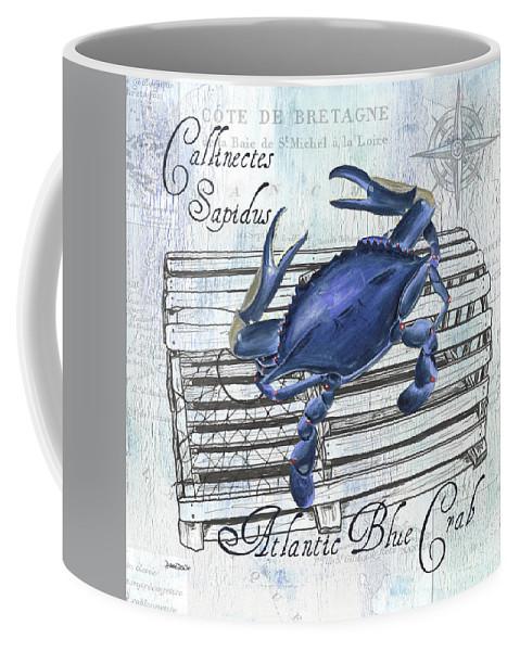 Food Coffee Mug featuring the painting Gourmet Shellfish 1 by Debbie DeWitt