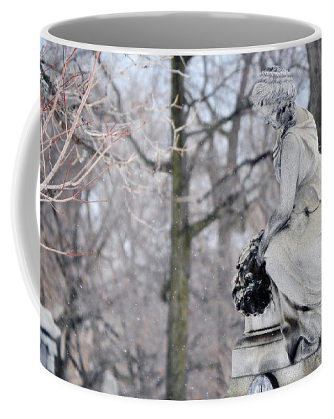 Graceland Cemetery Coffee Mug featuring the photograph Graceland Cemetery by Kyle Hanson