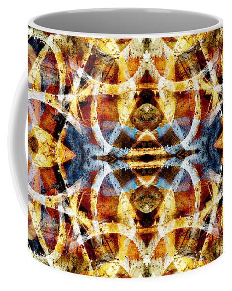 Abstract Coffee Mug featuring the digital art Graffiti 23 by Steve Ball