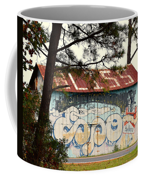 Ann Keisling Coffee Mug featuring the photograph Grafitti One by Ann Keisling
