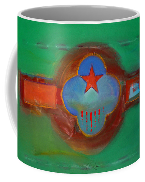 Star Coffee Mug featuring the painting Grand Canal by Charles Stuart
