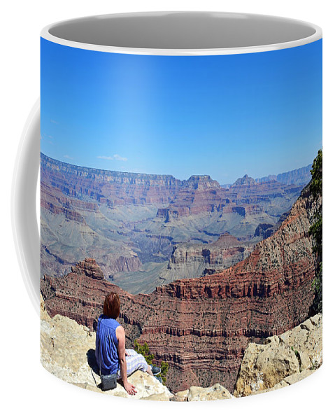 Grand Canyon Coffee Mug featuring the photograph Grand Canyon 14 by Aimee L Maher ALM GALLERY