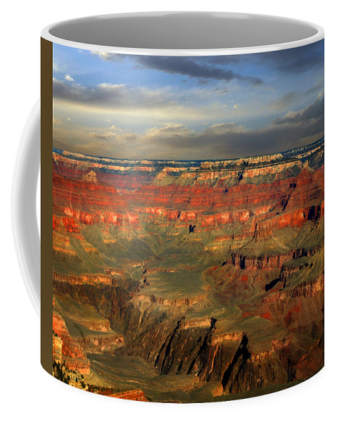 Grand Canyon Coffee Mug featuring the photograph Grand Canyon by Anthony Jones
