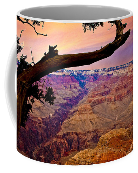 Landscape Coffee Mug featuring the photograph Grand Canyon Sunset by Ches Black