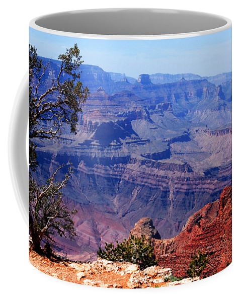 Photography Coffee Mug featuring the photograph Grand Canyon View by Susanne Van Hulst